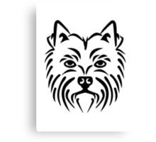 Westie West highland Terrier Canvas Print