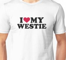I love my Westie Unisex T-Shirt