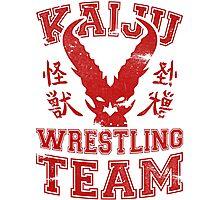Kaiju Wrestling Photographic Print
