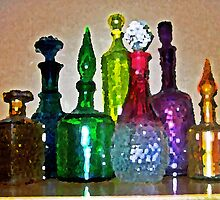 Pretty Decanters by suzannem73
