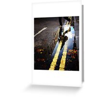 charing cross road ,london Greeting Card