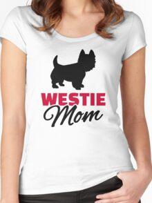 Westie Mom Women's Fitted Scoop T-Shirt