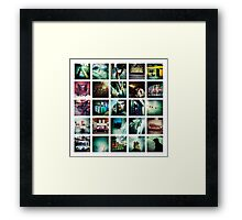 iphone collection Framed Print
