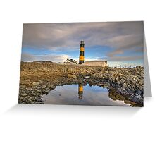 St. John's Point Lighthouse County Down Greeting Card