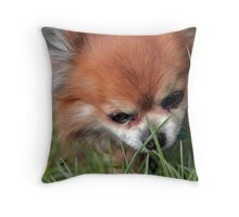 Grass Is Good Throw Pillow