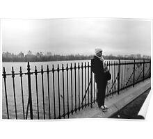 Central Park Gloom Poster
