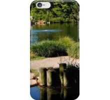 The Serenity of a Garden Pond    ^ iPhone Case/Skin