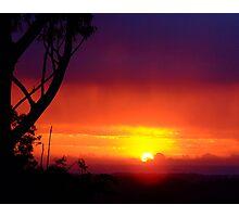 Layered Sunrise.... Photographic Print