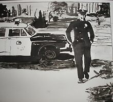 The Cops are Coming by Colin  Laing