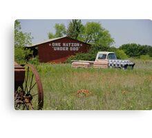 Rural America Speaks Canvas Print