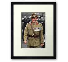 Digger - Anzac Day 2008 Framed Print