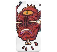 FACES OF METH iPhone Case/Skin