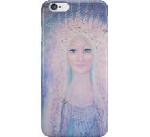 The light of the goddess inside iPhone Case/Skin