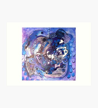 ocean nursery Art Print
