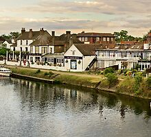 River Thames, Staines, UK by Sergey Galagan