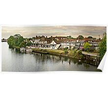 River Thames, Staines, UK Poster