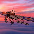 Royal Flying Corps Bleriot XI-2 by Dennis Melling