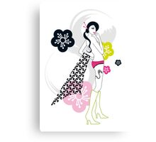 Shibuya Girl Canvas Print