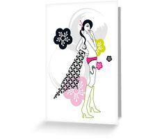 Shibuya Girl Greeting Card