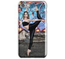 Maddie - Urban Ballerina Shoot 01 iPhone Case/Skin