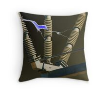Industrial Power Throw Pillow