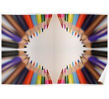 Pencil Circle Poster