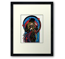 Haunted Song Framed Print