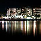 The Esplanade by Night by Janine  Hewlett