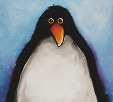 My penguin by StressieCat