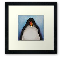 My penguin Framed Print