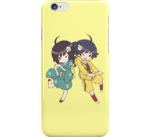 Monogatari – Fire Sisters iPhone Case/Skin