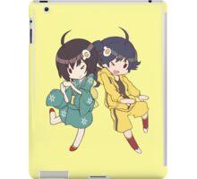 Monogatari – Fire Sisters iPad Case/Skin