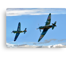 Dogfight Duel Rematch Canvas Print