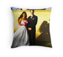 Grace and Mark Throw Pillow