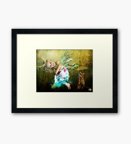 There is Magic In the Forest Framed Print