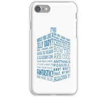 The Doctor's Tardis iPhone Case/Skin