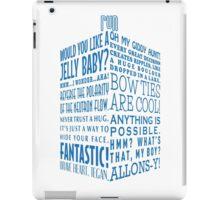 The Doctor's Tardis iPad Case/Skin