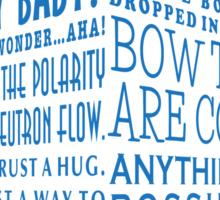 The Doctor's Tardis Sticker