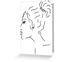 profile Greeting Card