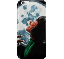 Werewolf, Howl at the Moon iPhone Case/Skin