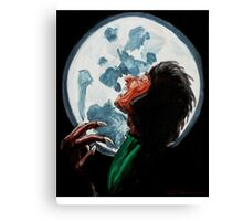 Werewolf, Howl at the Moon Canvas Print