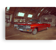Old Impala Canvas Print