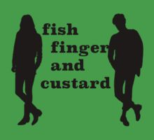 Fish finger and custard Kids Clothes
