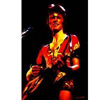 David Bowie - Ziggy Stardust - Digital Painting Photographic Print