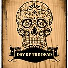 Day Of The Dead Skull  by fantasytripp