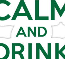 Neat 'Keep Calm and Drink Like a McIver' Irish Last Name T-Shirts, Hoodies and Gifts Sticker