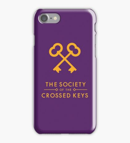 The Society of the Crossed Keys iPhone Case/Skin