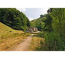 Southern End of Wolfscote Dale Photographic Print