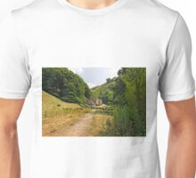 Southern End of Wolfscote Dale Unisex T-Shirt