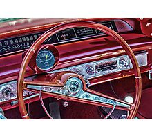 63 Impala Driver View Photographic Print